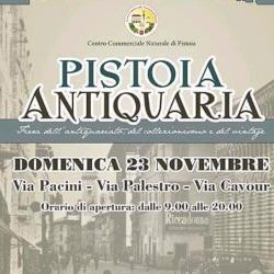 Pistoia Antiquaria. Domenica 23 novembre 2015