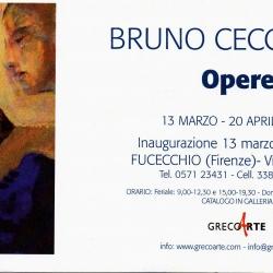 """""""Opere"""", mostra personale del Maestro Bruno Ceccobelli dal 13 marzo al 20 aprile 2010."""