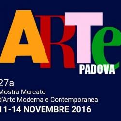 Fiera Arte Padova, 11 - 14 novembre 2016.