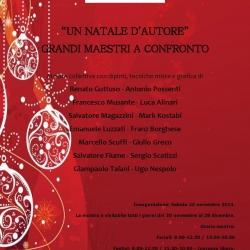 """""""Un Natale d'Autore"""", mostra collettiva dal 20 novembre al 28 dicembre 2014."""