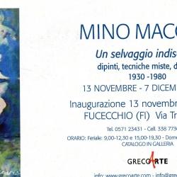 """""""Un selvaggio indiscreto"""", mostra personale del Maestro Mino Maccari dal 13 novembre al 7 dicembre 2010."""