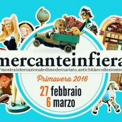Mercante in Fiera di Parma, 27 febbraio - 6 marzo 2016.