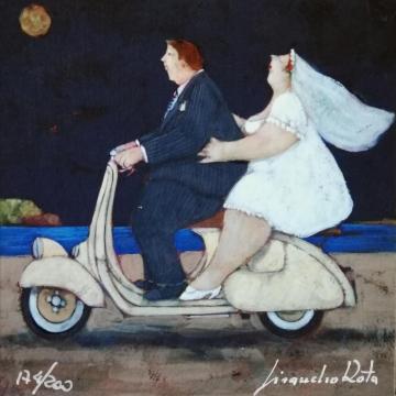 La sposa del vespista