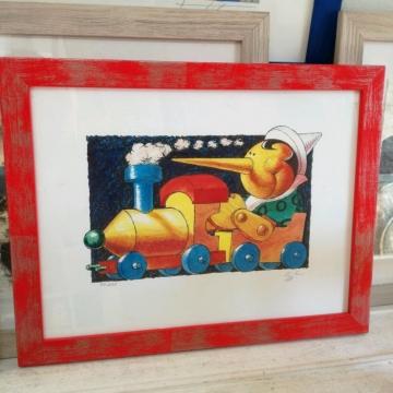 Pinocchio e il trenino