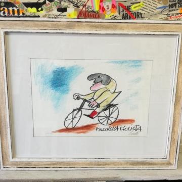 Pulcinella ciclista