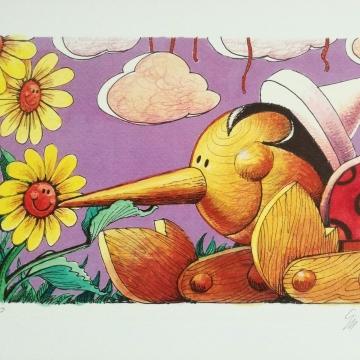 Pinocchio e le margherite